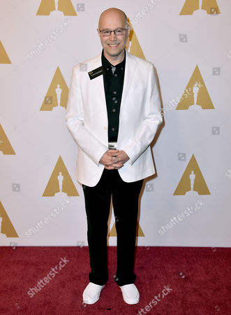 Stock Photo of Konstantin Bronzit arrives at the 88th Academy Awards Nominees Luncheon at The Beverly Hilton hotel, in Beverly Hills, Calif