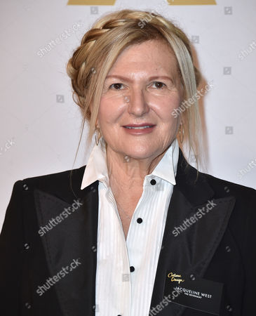 Jacqueline West arrives at the 88th Academy Awards Nominees Luncheon at The Beverly Hilton hotel, in Beverly Hills, Calif