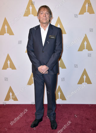 Andy Nelson arrives at the 88th Academy Awards Nominees Luncheon at The Beverly Hilton hotel, in Beverly Hills, Calif