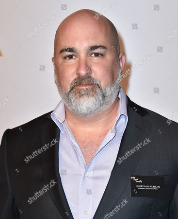 Jonathan Herman arrives at the 88th Academy Awards Nominees Luncheon at The Beverly Hilton hotel, in Beverly Hills, Calif