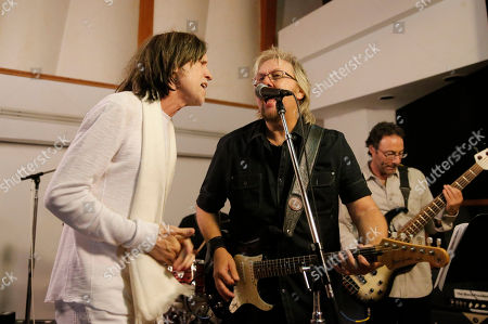 Glen Ballard and David Pack perform at A Night for Jolie Levine Sponsored by Lupus LA & Sweet Relief Musicians Fund, at Henson Studios on Friday, May, 31, 2013 in Los Angeles