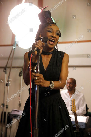 Siedah Garrett performs at A Night for Jolie Levine Sponsored by Lupus LA & Sweet Relief Musicians Fund, at Henson Studios on Friday, May, 31, 2013 in Los Angeles