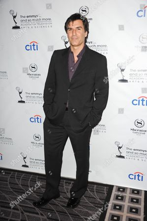 Vincent Irizarry arrives at the Academy of Television Arts & Sciences Performers Peer Group Reception at the Sheraton Universal Hotel on in Universal City, Calif
