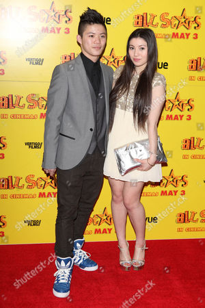 Kieran Lai, Hanae Atkins at the premiere of All Stars at the VUE West End in London on