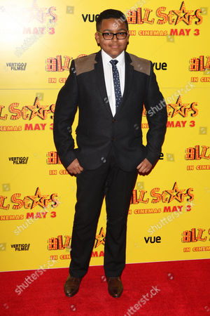 Gamal Toseafa at the premiere of All Stars at the VUE West End in London on