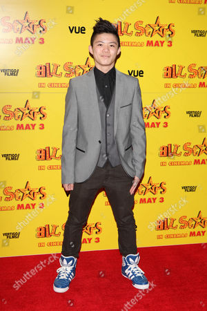 Kieran Lai at the premiere of All Stars at the VUE West End in London on