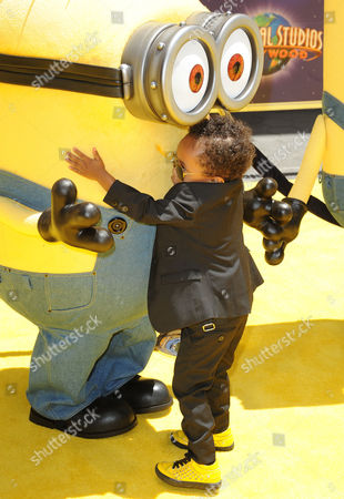 """Elias Washington arrives at the American premiere of """"Despicable Me 2"""" at the Universal City Walk on in Universal City, Calif"""
