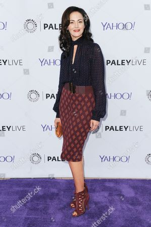 """Actress Joanna Going attends An Evening with """"Kingdom"""" held at Paley Center for Media, in Beverly Hills, Calif"""