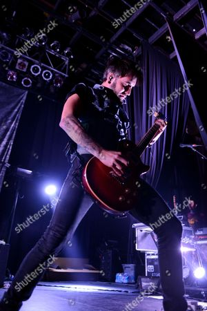 Christian McAlhaney of Anberlin Performs, at Center Stage Theater, in Atlanta