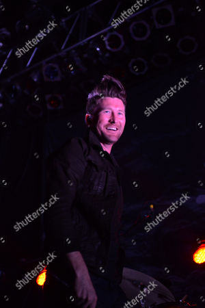 Stephen Christian of Anberlin Performs, at Center Stage Theater, in Atlanta