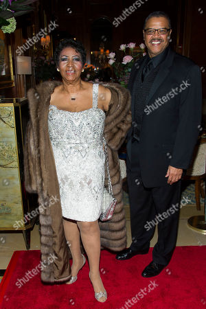 Editorial picture of Aretha Franklin Birthday Bash, New York, USA