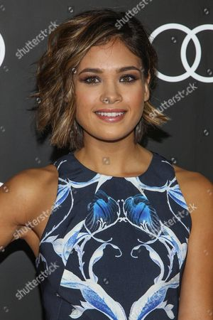 Stock Photo of Nicole Gale Anderson arrives to the Audi Golden Globes Cocktail Party held at Cecconi's Restaurant on in West Hollywood, California