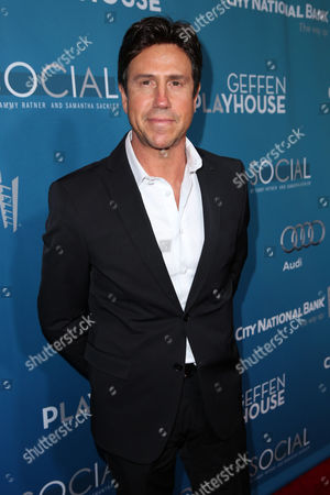 Stock Image of Nelson De La Nuez arrives at Backstage At The Geffen Gala, in Los Angeles