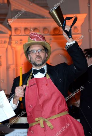Matt Selman celebrates at Beefsteak 4 at Vibiana on in Los Angeles, CA