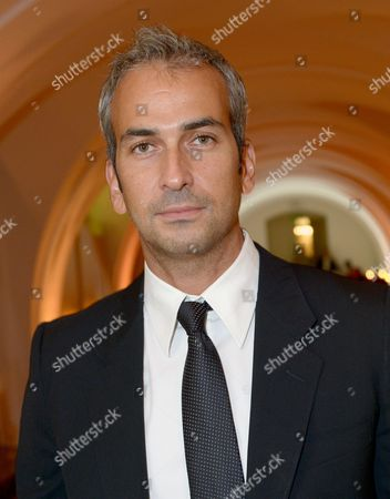 Stock Image of Director Alphan Eseli attends the 57th BFI London Film Festival Awards Night at Banqueting House Whitehall,, in London