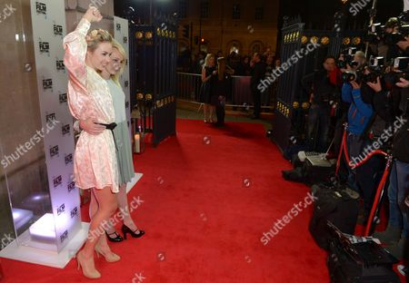 Sasha Shevchenko and Kitty Green FEMEN activist Alexandra 'Sasha' Shevchenko and director and Australian filmmaker Kitty Green arrive at the 57th BFI London Film Festival Awards Night at Banqueting House Whitehall,, in London