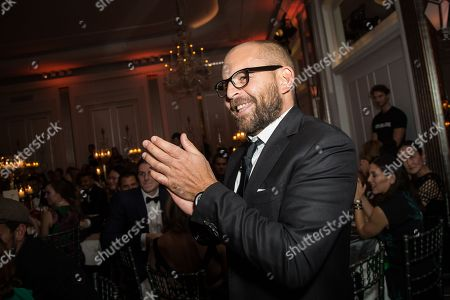 Artists for Peace and Justice CEO David Belle attends the 'Brilliant is Beautiful' fund raiser dinner organized by the NGO Artists for Peace and Justice, in London