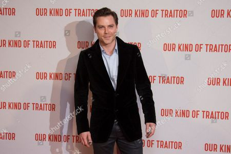 Stock Picture of Marek Oravec poses for photographers upon arrival at the UK Gala Premiere of Our Kind Of Traitor, at a central London hotel