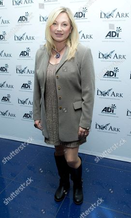 Wendy Turner-Webster arrives at the World Premiere of the documentary, Lion Ark, as part of the Raindance Film Festival, at a central London cinema