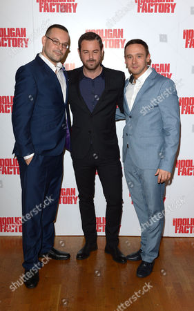 Danny Dyer, Nick Nevern are seen at the premeir of The Hooligan Factory, at the Odeon West End in London on Monday June, 9, 2014
