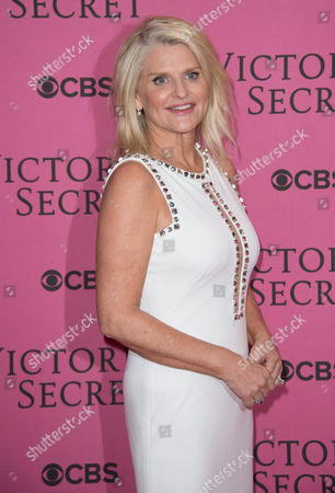 Stock Photo of Sharen Turney poses for photographers upon arrival at the Victoria's Secret fashion show in London