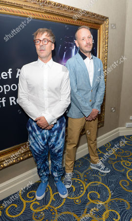 Basement Jaxx) Felix Buxton and Simon Ratclife attend the Nordoff Robbins O2 Silver Clef Awards 2014 at the Hilton Hotel in London on