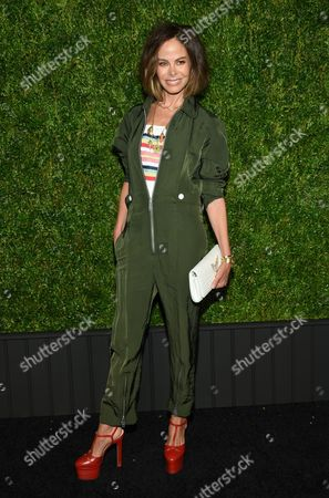 Allison Sarofim attends the CHANEL Tribeca Film Festival Artist Dinner at Balthazar Restaurant, in New York