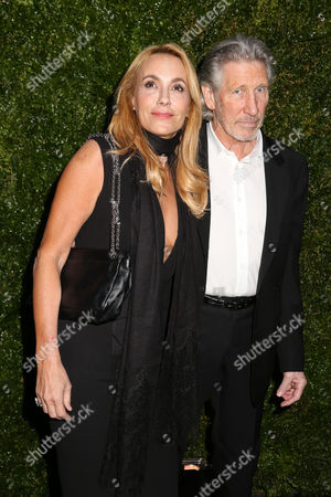 Actress Laurie Durning and musician Roger Waters attend the CHANEL Tribeca Film Festival Artists Dinner at Balthazar on in New York