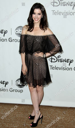 Erica Dasher arrives at the Disney ABC Television Group 2012 Summer Press Tour All-Star Cocktail Reception, in Beverly Hills, Calif