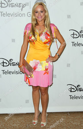 Erica Rose arrives at the Disney ABC Television Group 2012 Summer Press Tour All-Star Cocktail Reception, in Beverly Hills, Calif