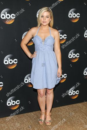 Kirsten Storms attends the Disney/ABC Television Group 2014 Summer TCA held at the Beverly Hilton Hotel, in Beverly Hills, Calif