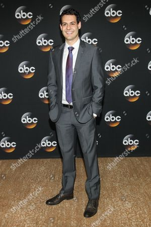 Andrew Leeds attend the Disney/ABC Television Group 2014 Summer TCA held at the Beverly Hilton Hotel, in Beverly Hills, Calif