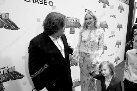 Jack Black, Kate Hudson, Bingham Hawn Bellamy and Ryder Robinson seen at DreamWorks Animation and Twentieth Century Fox World Premiere of 'Kung Fu Panda 3' at TCL Chinese Theater, in Hollywood, CA