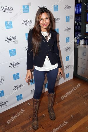 Vanessa Marcil attends the Kiehl's Earth Day Party co-hosted by Elizabeth Olsen and Maggie Q benefitting Recycle Across America at the Kiehl's Since 1851 store in Santa Monica, Calif. on
