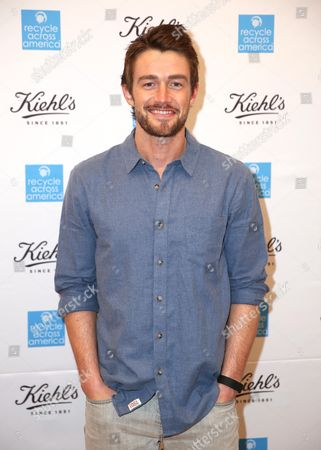 Robert Buckley attends the Kiehl's Earth Day Party co-hosted by Elizabeth Olsen and Maggie Q benefitting Recycle Across America at the Kiehl's Since 1851 store in Santa Monica, Calif. on