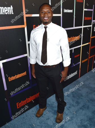 Malcolm Goodwin arrives at Entertainment Weekly's Annual Comic-Con Closing Night Celebration at the Hard Rock Hotel, in San Diego