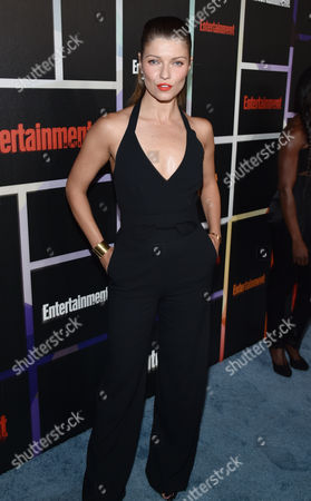 Ivana Milicevic arrives at Entertainment Weekly's Annual Comic-Con Closing Night Celebration at the Hard Rock Hotel, in San Diego