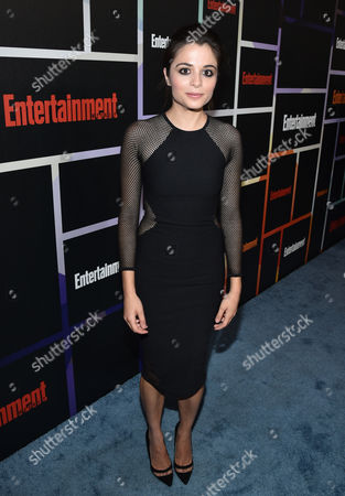 Stephanie Leonidas arrives at Entertainment Weekly's Annual Comic-Con Closing Night Celebration at the Hard Rock Hotel, in San Diego