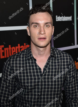 Ari Millen arrives at Entertainment Weekly's Annual Comic-Con Closing Night Celebration at the Hard Rock Hotel, in San Diego