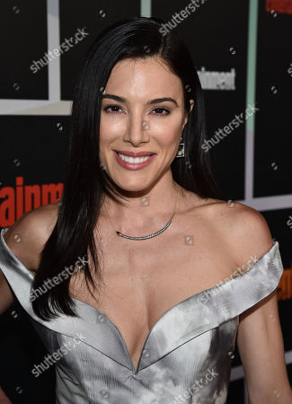 Jaime Murray arrives at Entertainment Weekly's Annual Comic-Con Closing Night Celebration at the Hard Rock Hotel, in San Diego