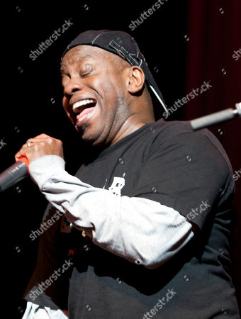 Corey Glover of Living Colour performs as part of the Experience Hendrix Tour at the Gibson Amphitheatre on in Universal City, California