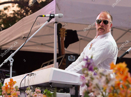 Roddy Bottum with Faith No More performs at the Masquerade Music Park, in Atlanta