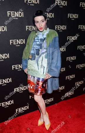 Michelle Harper attends Fendi's New York Flagship Boutique opening celebration, in New York