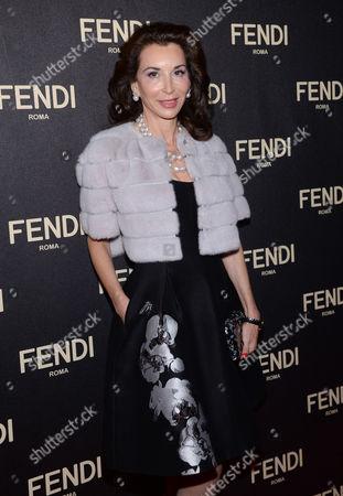 Editorial photo of Fendi Flagship Boutique Opening Celebration, New York, USA