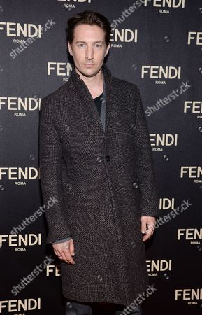 Benn Northover attends Fendi's New York Flagship Boutique opening celebration, in New York