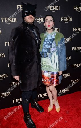 Editorial image of Fendi Flagship Boutique Opening Celebration, New York, USA