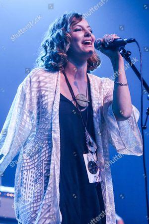 Bijou Phillips performs at Fleetwood Mac Fest at The Fonda, in Los Angeles