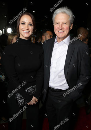 "Verena King and Bruce Boxleitner seen at Focus Features Los Angeles premiere of ""The Theory of Everything"", in Beverly Hills"
