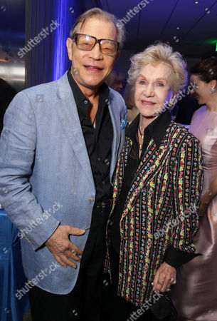 """Michael York and Pat York seen at Focus Features Los Angeles premiere of """"The Theory of Everything"""", in Beverly Hills"""