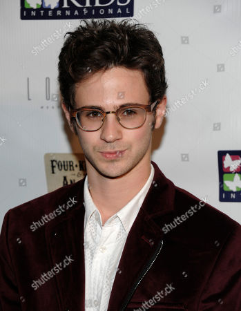 """Actor Connor Paolo attends """"Four Kings and an Ace"""" celebrity charity poker tournament at The London Hotel, in West Hollywood, Calif"""